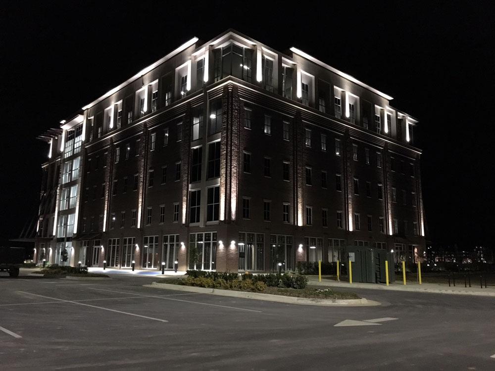 Century Tower Building Night