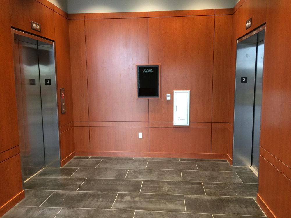 Century Tower Elevator Lobby