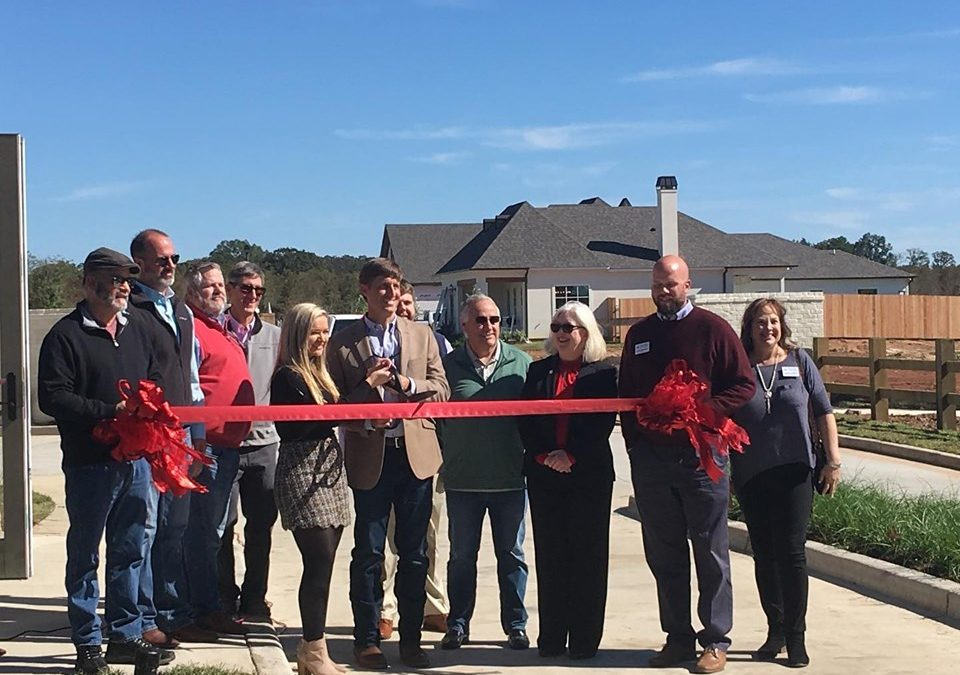 Ribbon Cutting and Grand Opening Ceremony Officially Opens The Grove at Garrett Farm